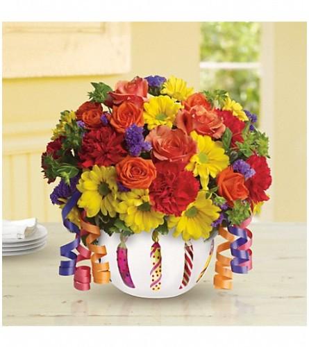 Teleflora's Vibrant Birthday Blooms