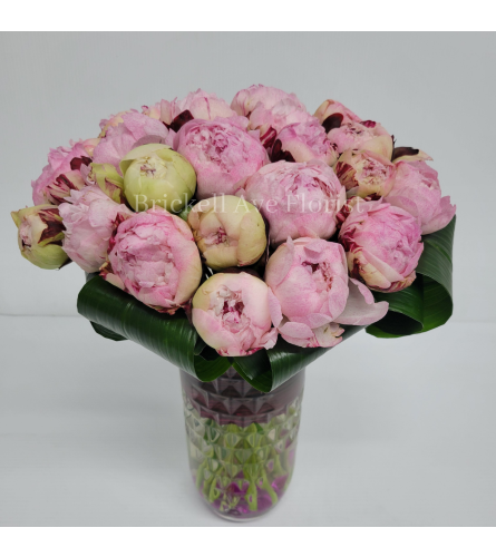 Modern Peonies Concept