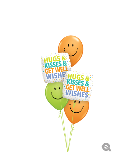 The Best Medicine of All! Classic Balloon Bouquet