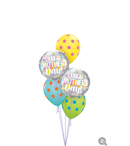Love You The Most Mom Classic Balloon Bouquet