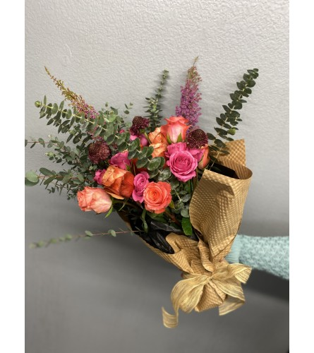 Kimberley Hand-wrapped Bouquet