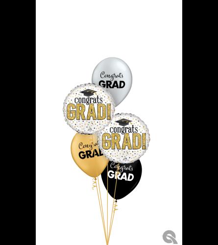 Elegant Graduation Classic Balloon Bouquet