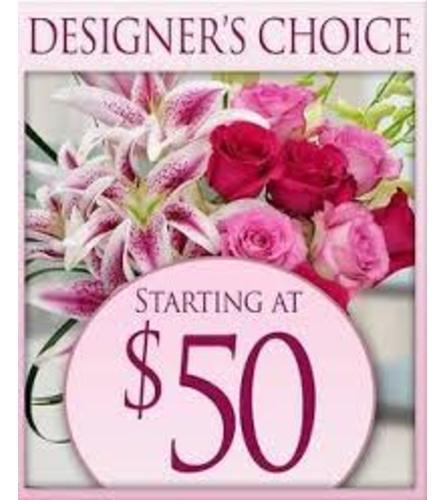 Designer's Choice Vased