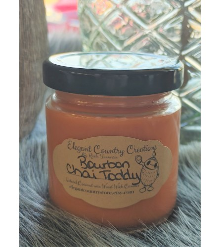 Elegant Country Creations Candle - Bourbon Chai Toddy