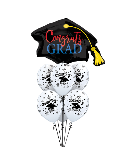 Awesome Grad! Awesome Balloon Bouquet