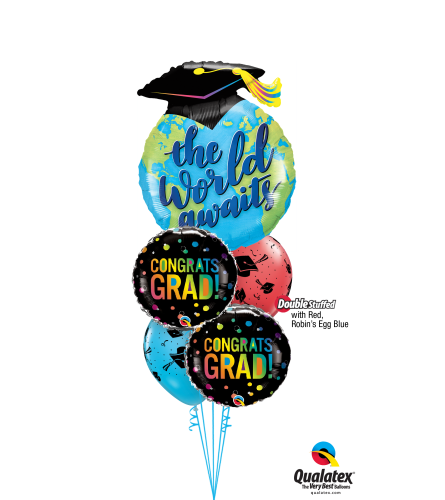 Adventure Is Out There Cheerful Balloon Bouquet