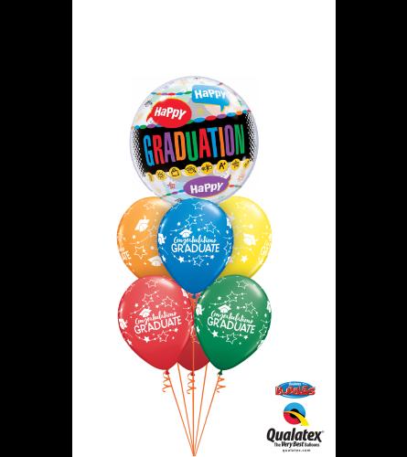 You're A Star, Grad Bubble Balloon Bouquet