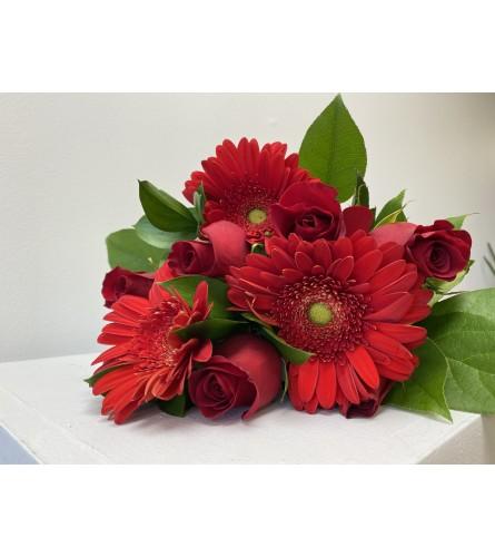 Radient Red Bouquet