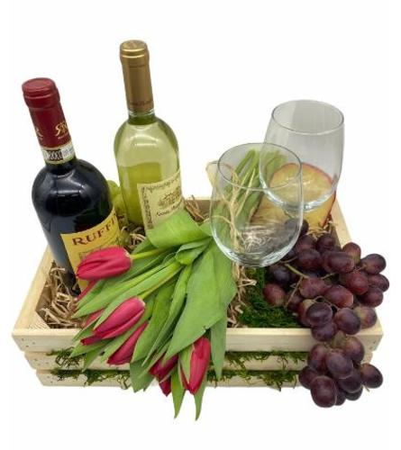 Wine  Gift Basket. Have a question? Call Us (718)748-3733