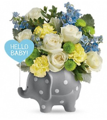 Hello Sweet Baby - Blue Elephant