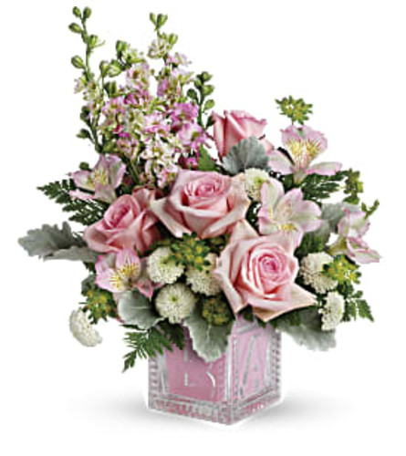 Bundle of Joy Bouquet - Pink