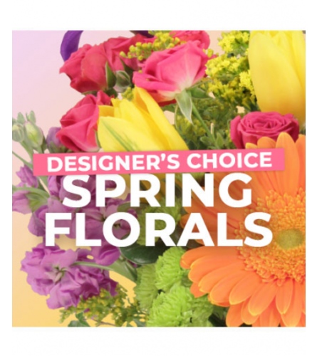 Spring Designer choice Vase
