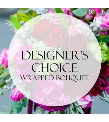 Designer Choice Loose Bouquet wrapped in Paper