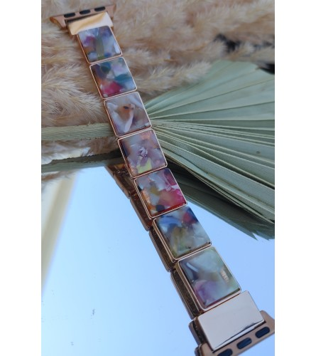 Colorful Resin Apple Watch Band