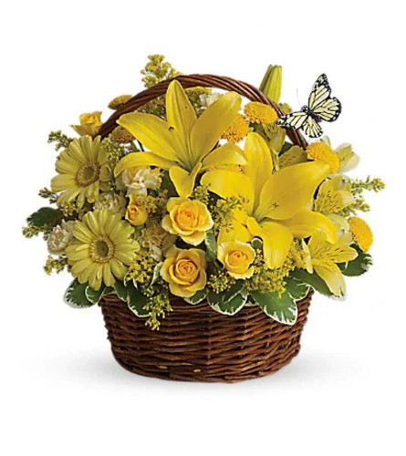 Basket Full of Wishes by Teleflora
