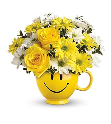 Be Happy Mug by Teleflora