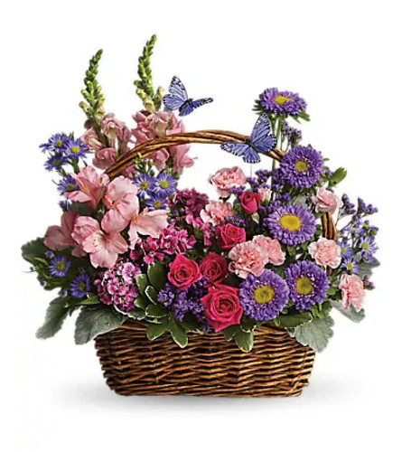 Country Basket Blooms by Teleflora