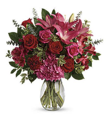 Love Struck Vase by Teleflora