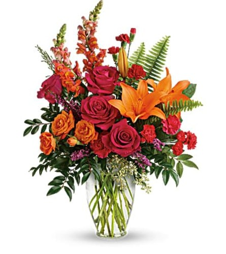 Punch of Color by Teleflora