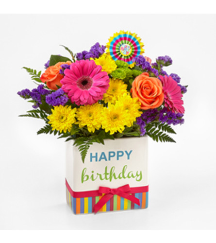 FTD Birthday Bright Bouquet