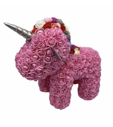 rose bear unicorn pink