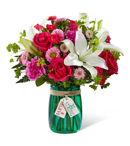FTD Be Strong and Believe Bouquet