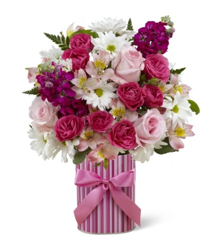 FTD Little Miracle Bouquet- Girl
