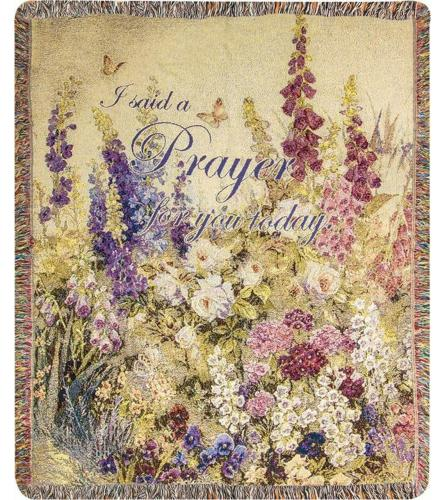 BUTTERFLY PARADISE THROW