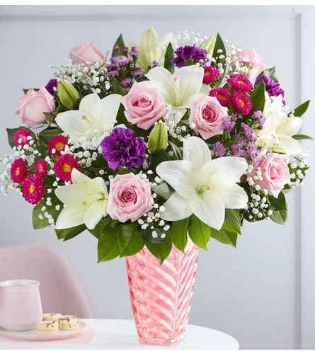 Just For Her Blooms In Vase