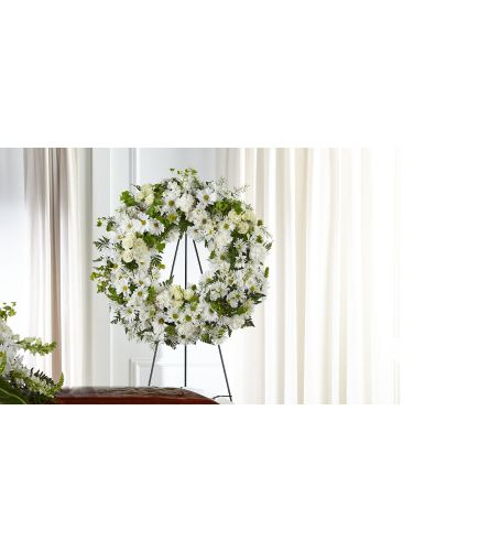 FTD® Faithful Wishes Wreath