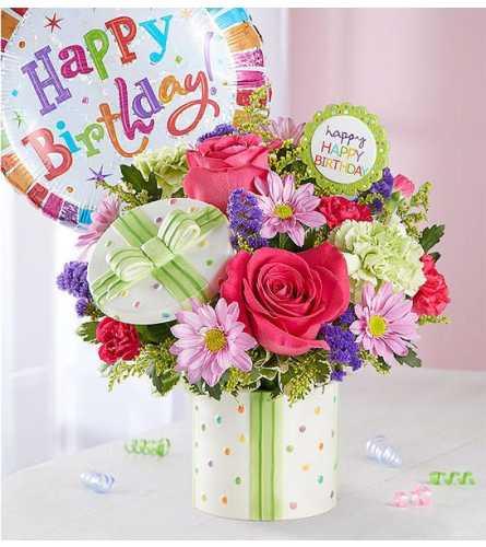 Happy Festive  Birthday Present