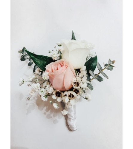 Pinned Corsage - Engagement