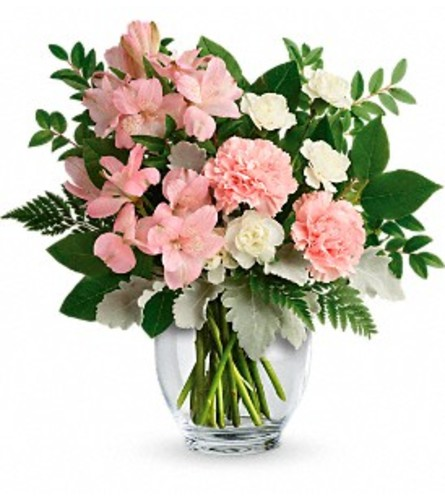 Teleflora Whisper Soft Bouquet