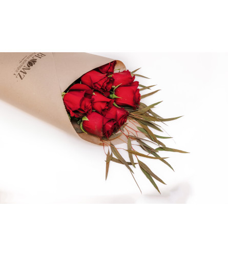 Blumz Wrapped Roses