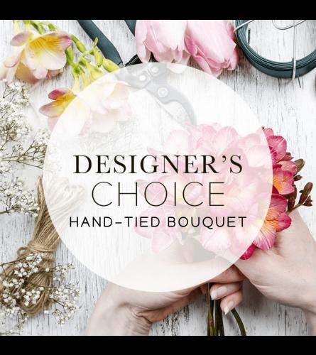 Hand Tied Bouquet - Designer Choice