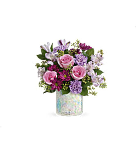 Shine and Style Arrangement
