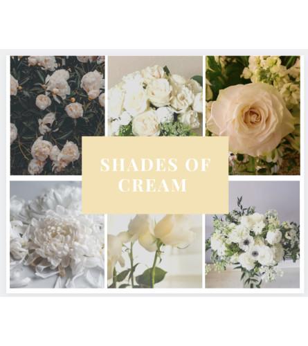 Shades of Cream Arrangement