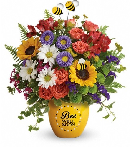 Bee Well Soon Garden (Teleflora)