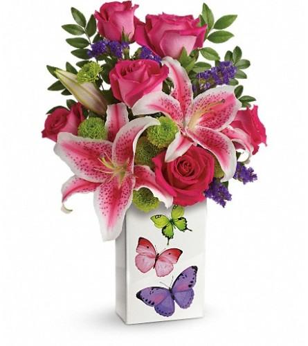 Vibrant Butterflies Bouquet (Teleflora)