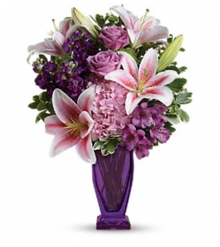 THE BLUSHING VIOLETS BOUQUET