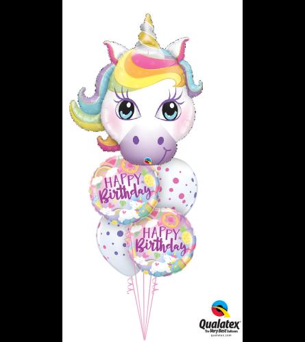 Magical Birthday Cheerful Balloon Bouquet