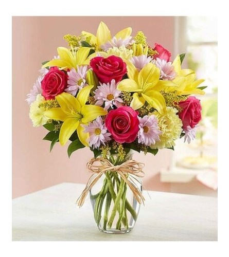 FIELDS OF EUROPE® BOUQUET FOR MOM