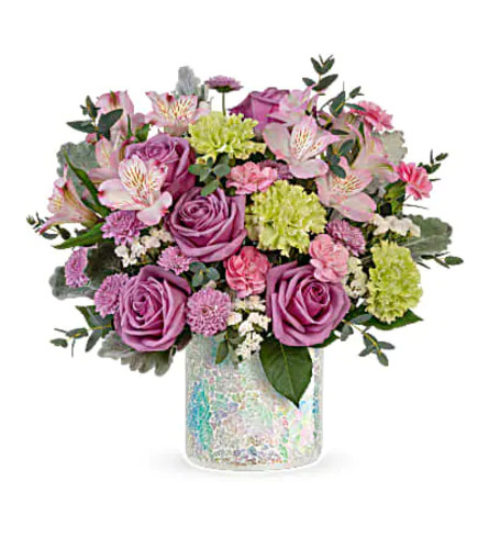 TELEFLORA'S IRRESISTIBLE IRIDESCENCE BOUQUET OF FLOWERS