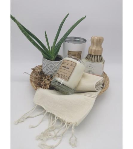 Cream Kitchen Gift Set