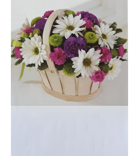 Blooming Basket Of Blooms