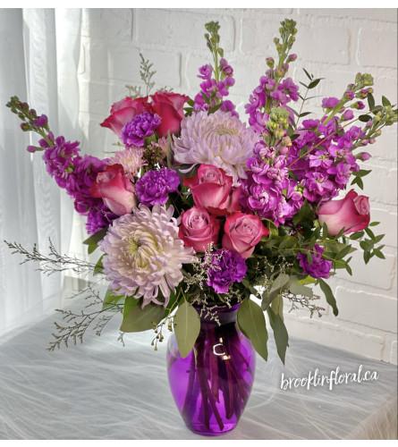 Purple Haze in the Vase