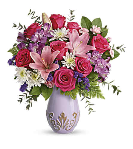Teleflora's Lavishly Lavender Bouquet 2021