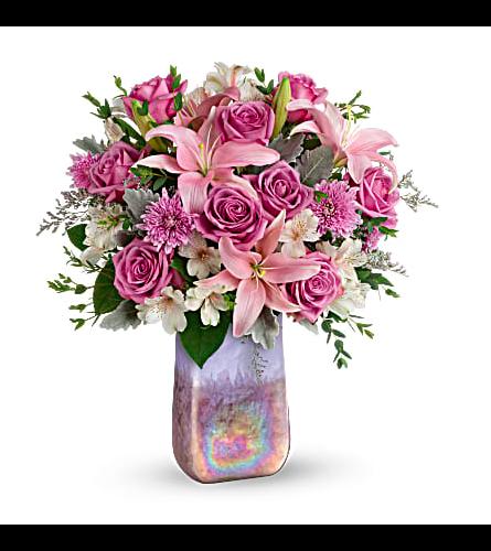 Teleflora's Stunning Swirls Bouquet 2021