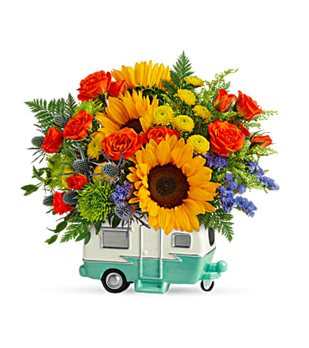 Teleflora's Retro Road Tripper 2021