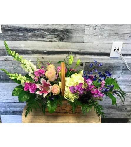 Elegance Garden Basket